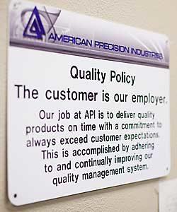 API Quality Policy